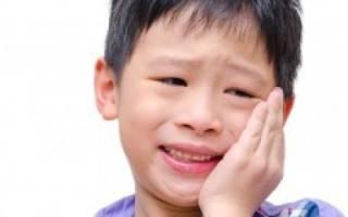 Что делать если болит зуб у ребенка